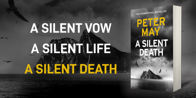 PETER MAY on the Rocks with A SILENT DEATH